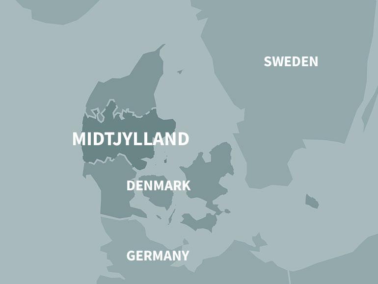 About CDEU Central Denmark EU Office - Where is denmark located