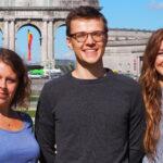 Fra venstre: Katrine, Andreas og Amalie